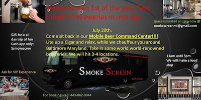 Maryland Beer crawl