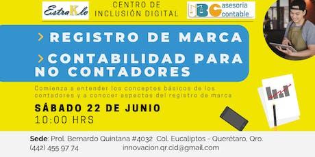 Registro de Marca & Contabilidad para No Contadores entradas