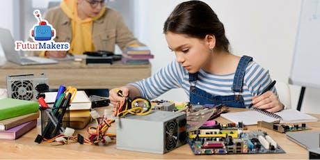 Corso di tecnologia e elettronica per bambini (7-10 anni) biglietti