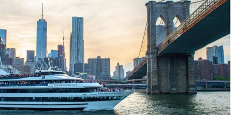 #1 NYC INFINITY Cruise on Hornblower's Mega Yacht - Boat Party Around Manhattan tickets