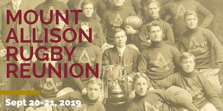 Mount Allison Rugby Reunion Weekend tickets
