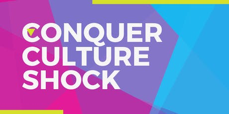CONQUER CULTURE SHOCK bilhetes