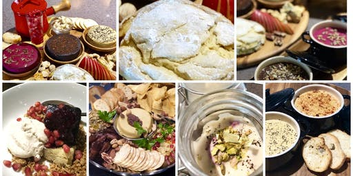 7-COURSE FINE DINING VEGAN CHEESE DINNER SPECIAL