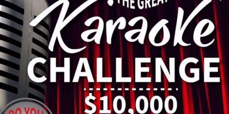 The $10,000 Great Canadian Karaoke Competition tickets