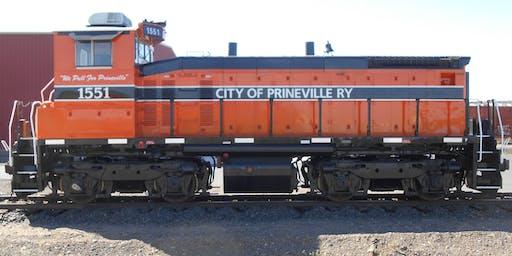 Prineville July 4th Celebration FREE Diesel Locomotive Rides 2019