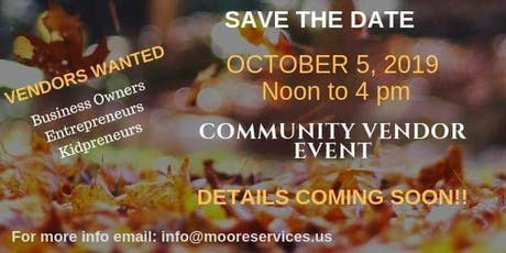 Small Business and Family Vendor event  tickets