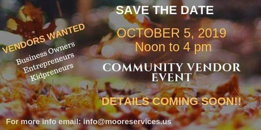 Small Business and Family Vendor event