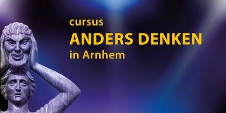 Cursus Anders Denken in Arnhem (14 bijeenkomsten) tickets