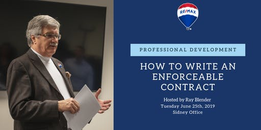 Professional Development - How to Write an Enforceable Contract