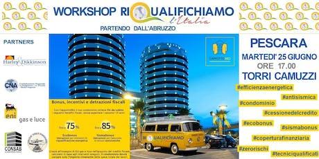 Riqualifichiamo L'Italia, partendo dall'Abruzzo tickets