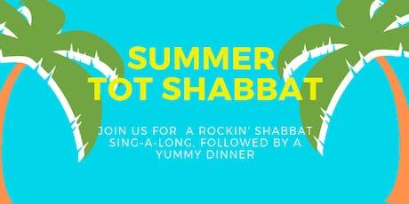 Summer Tot Shabbat tickets