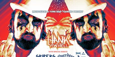 Hank Von Hell tickets