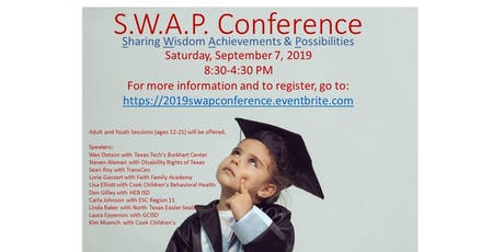 S.W.A.P. Conference: Transition from Diagnosis to Diploma…and Beyond tickets