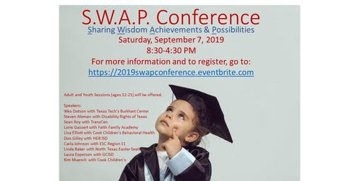 S.W.A.P. Conference: Transition from Diagnosis to Diploma…and Beyond