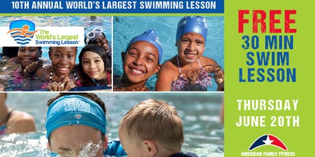 10th Annual World's Largest Swim Lesson - Free! (CH) tickets