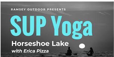 SUP Yoga at Horseshoe Lake with Erica Pizza