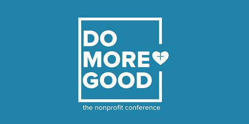 DO MORE GOOD Nonprofit Conference