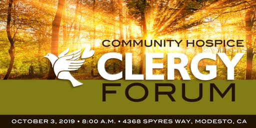 Community Hospice Clergy Forum