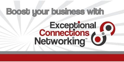 Exceptional Connections August Networking Luncheon featuring Leslie Akin