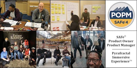 SAFe® Product Owner Product Manager IMMERSIVE, Dearborn, MI (9/25-9/27) tickets