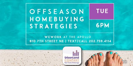Offseason Homebuying Strategies Workshop - 7/16/2019 tickets