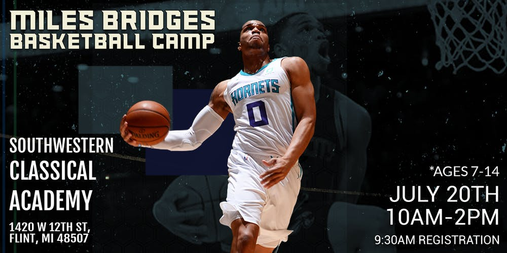 Image result for miles bridges basketball camp