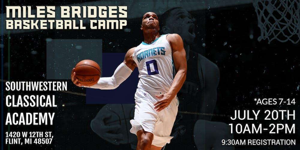 Image result for miles bridges basketball camp