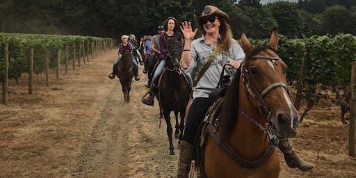 Horseback Vineyard Tour & Dinner