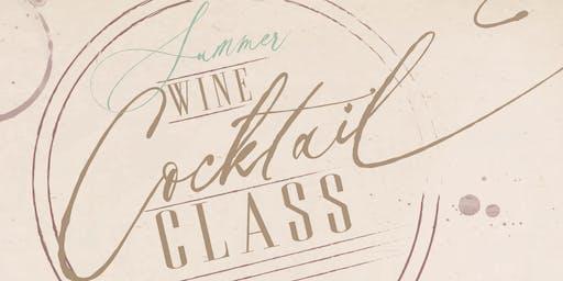 Summer Wine Cocktail Class
