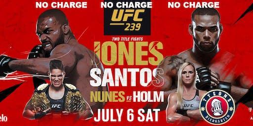 NO COVER: Jones vs Santos & Nunes vs Holm at Tysons Biergarten