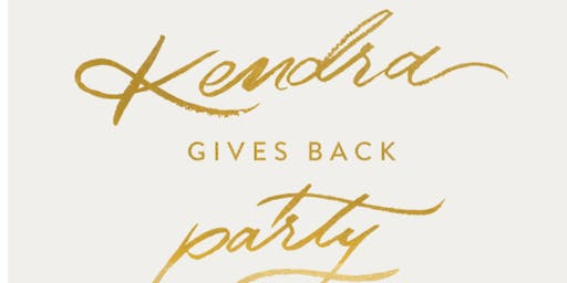 Kendra Scott Give Back Party