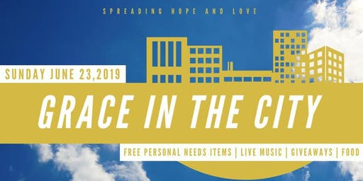 GRACE IN THE CITY & THE BIG GIVE