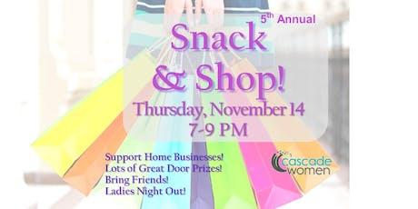 Women's Snack & Shop tickets