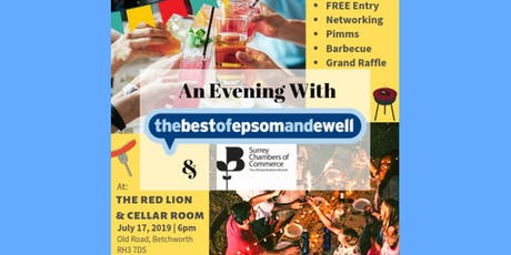 An Evening with thebestof Epsom & Ewell + Surrey Chambers of Commerce tickets
