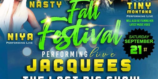 FALL FESTIVAL-JACQUEES PREFORMING LIVE