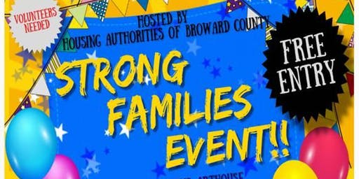 Strong Families event at the Northwest Gardens Arthouse