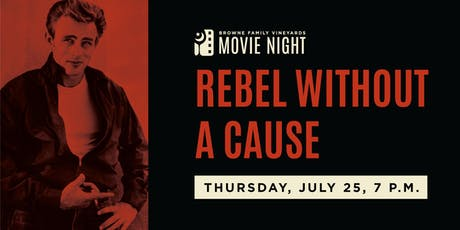 Movie Night! Rebel Without a Cause tickets