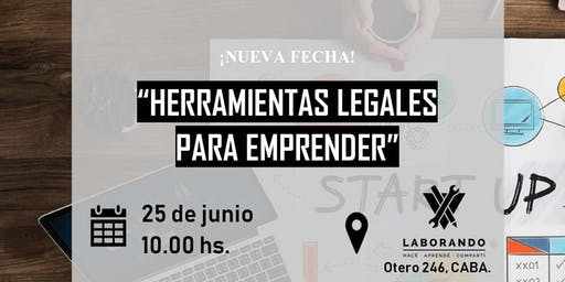 """Workshop """"Herramientas legales para emprender"""""""