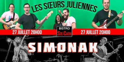 Les Sœurs Juliennes et le groupe Simonak