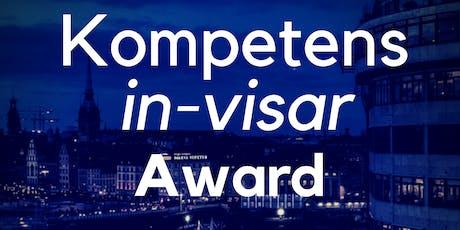 Kompetens-IN-visar Award, Rooftop AW Thursday 27 June @WeWork tickets