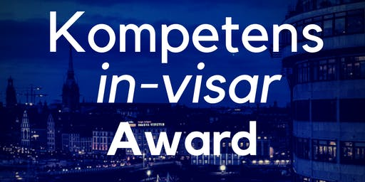 Kompetens-IN-visar Award, Rooftop AW Thursday 27 June @WeWork