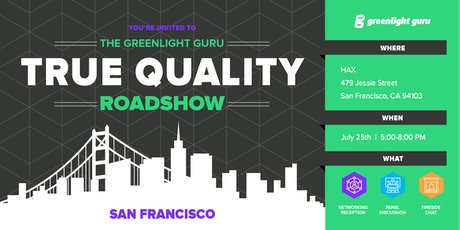 The True Quality Roadshow - San Francisco tickets