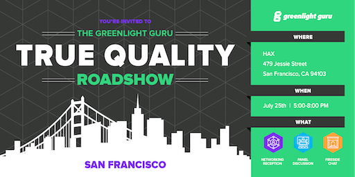 The True Quality Roadshow - San Francisco