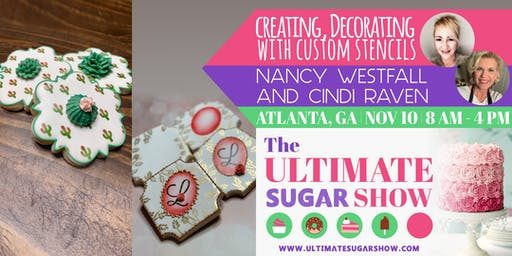 Creating, Decorating with Custom Stencils with Nancy Westfall & Cindi Raven