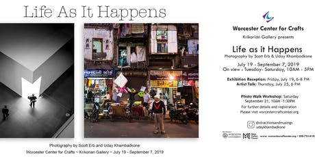 """Life As It Happens"" - Street Photography Reception tickets"