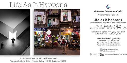 """Life As It Happens"" - Street Photography Reception"