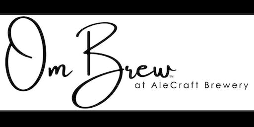 Ombrew Yoga at AleCraft w/ Cate