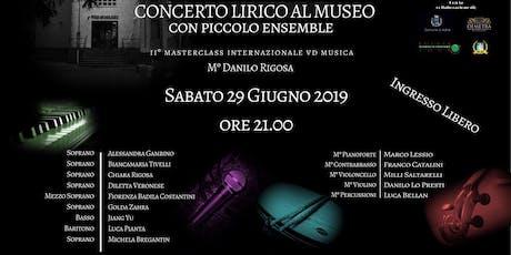CONCERTO LIRICO AL MUSEO biglietti