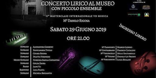 CONCERTO LIRICO AL MUSEO