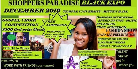 Shoppers Paradise Black Expo 2019  tickets